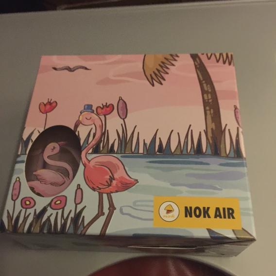 Hộp đồ ăn siêu dễ thương của Nok Air