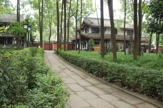 tu viện văn thủ wenshu monastery 2